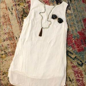 100% Cotton White Dress